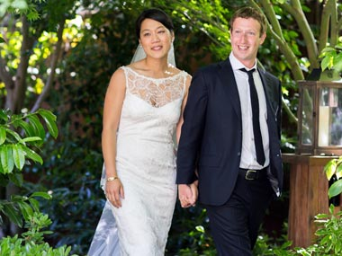 FACEBOOK FOUNDER UPDATES STATUS `MARRIED'