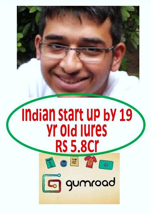 TEEN START-UP GUMROAD LURES INVESTORS Wonder teen, corners 5.8 Cr ...