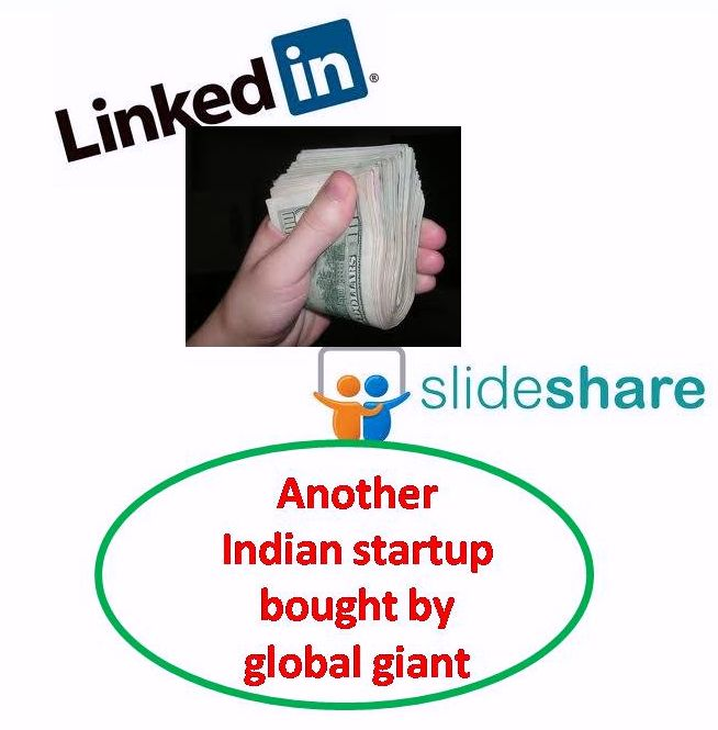 LINKEDiN ACQUIRES SLIDESHARE, 640Cr DEAL