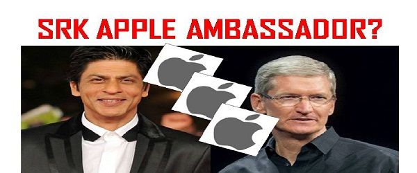 SRK RECOMMENDS iPHONE