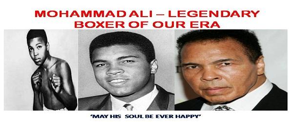 MUHAMMAD ALI – THE GREATEST