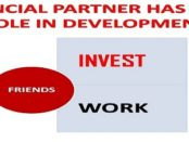 FINANCIAL PARTNER IS EQUALLY IMPORTANT