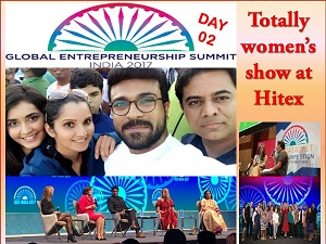 MEMORABLE EXPERIENCE FOR WOMEN ON DAY 02 AT GES SUMMIT 2017