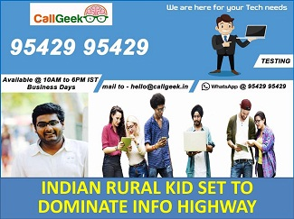 CALL GEEK SET TO DOMINATE THE INFO HIGHWAY