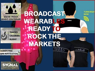 WEARABLE REVOLUTION BY BROADCAST