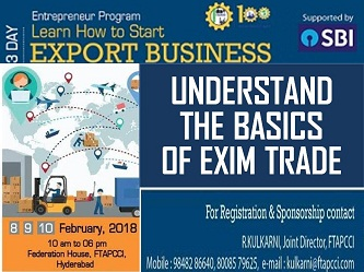 SEMINAR ON EXPORT BUSINESS BY FTAPCCI