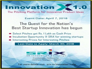 NATION'S BEST STARTUP EVENTS INNOVATIONS X 1.0