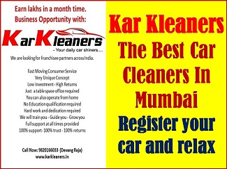 CAR MAINTENANCE MADE EASY BY MUMBAI KAR KLEANERS