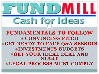 FUNDMILL FOR INVESTMENTS TO STARTUPS