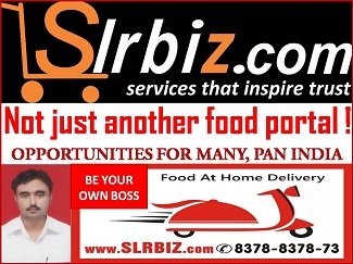 SOLAPUR SLRBIZ FOOD PORTAL OFFERS FRANCHISE