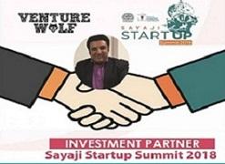 SAYAJI STARTUP SUMMIT 2018 WELCOMES VENTURE WOLF