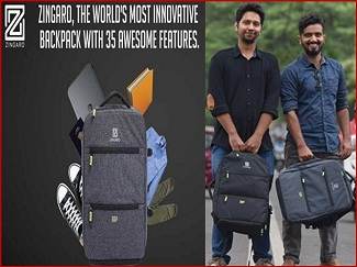 ZINGARO PRESENTS WORLD'S BEST BACKPACK