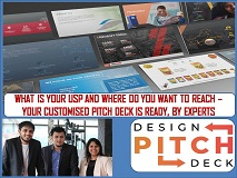 STARTUPS DESIGN PITCH DECK