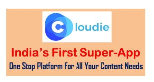 India's First Super App Cloudie