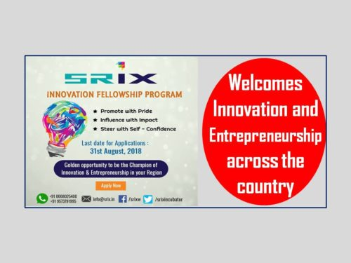SRiX Innovation fellowship
