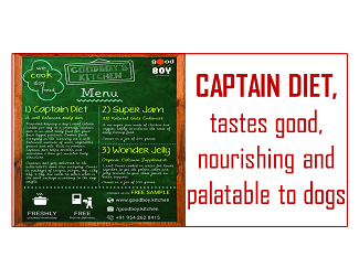 Captain Diet for Dogs