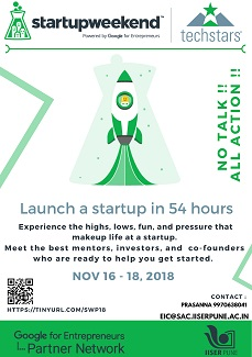 Poster for Global StartUp Weekend