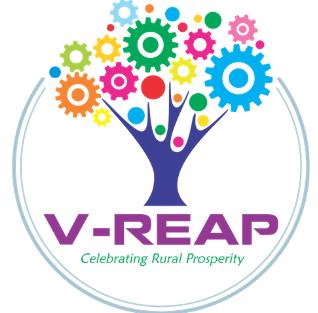 V-REAP logo