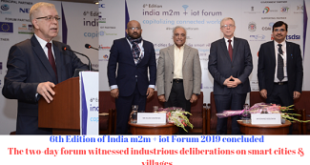 The two-day forum witnessed industrious deliberations on smart cities & villages
