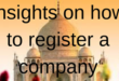 How to starrt a company in India