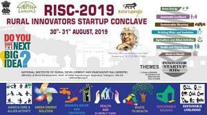 RURAL INNOVATORS START-UP CONCLAVE 2019